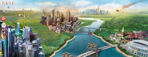 SimCity Banner Art